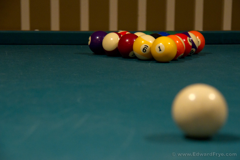 Last Night, I Decided To Dig Out The Camera When I Saw The Light Hitting My  Pool Table A Certain Way. I Have Some Ideas For Imagery, And Hereu0027s The  First Of ...